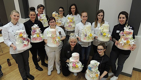 Cake Decoration Aufbaukurs mit Betty